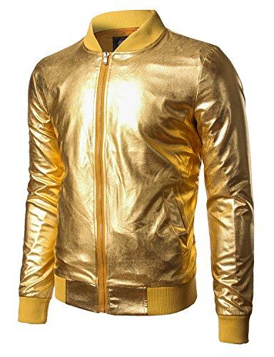 jogal-mens-metallic-nightclub-styles-zip-up-varsity-baseball-bomber-jacket-x-large-gold