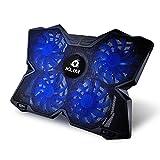 KLIM-WIND-Laptop-Khler-Gaming-Khlpad-fr-Rechner-4-Khler-um-die-berhitzung-zu-lsen-Notebookstnder