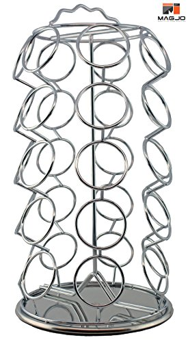 Great Deal! 35 K-cup Storage Carousel (Chrome)