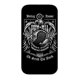 Premium Brign Power Back Case Cover for Moto E