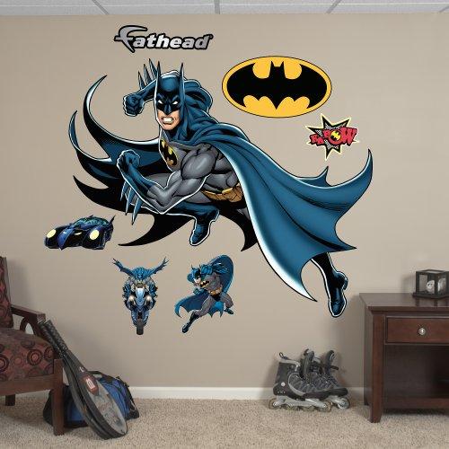 Fathead Batman In Action Graphic Wall Décor