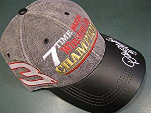 Dale Earnhardt Sr #3 Seven 7 Time NASCAR Winston Champion Champ With Championship... by Modern Headwear