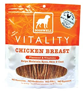 Dogswell Vitality Chicken Breast Treats (15 oz) by Dogswell