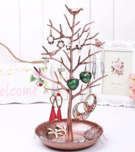 Obtenez maintenant bronze birds new antique arbre de - Rangement boucles d oreilles ...