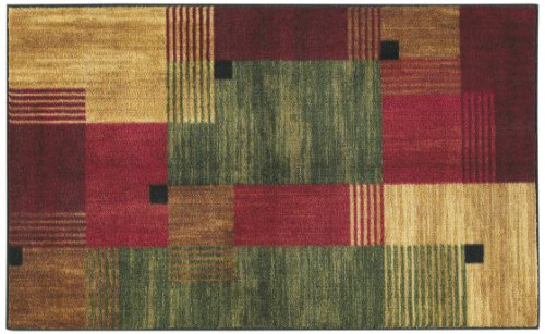 Mohawk Home Adams Color Block Multi Rug, 30-Inch by 46-Inch