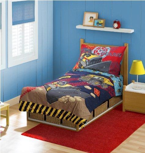 Truck Crib Bedding 7637 front