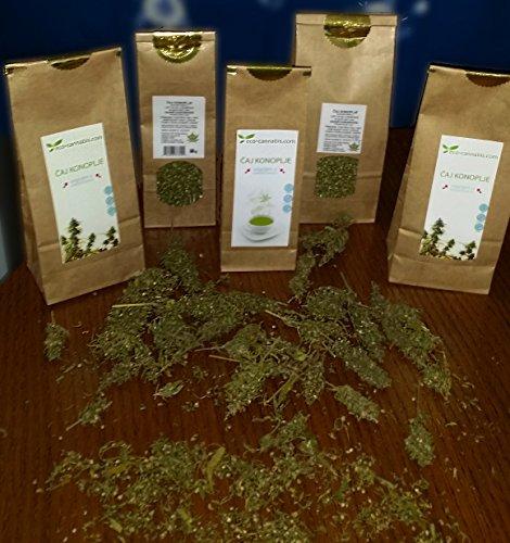 Foglia di cannabis 70g (Foglia, pannocchia e semi), CBD, Contiene cannabinoidi, Aroma e gusti naturali