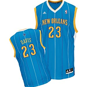 NBA Adidas New Orleans Hornets Anthony Davis Revolution 30 Youth Large Road Jersey... by adidas