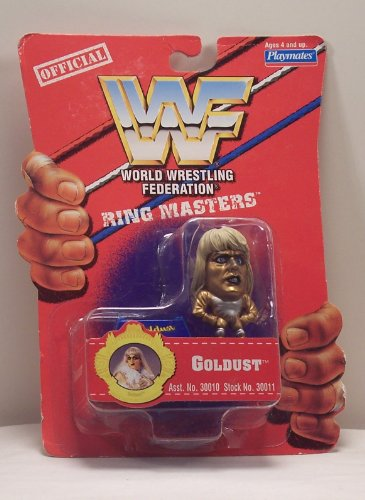 WWF Ring Masters Goldust Mini Figure - 1