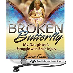Broken Butterfly brain injury audiobook