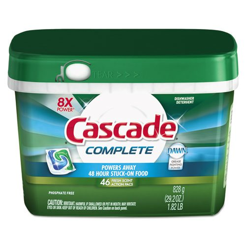 Cascade® ActionPacs, Dishwashing Pods, Dawn Fresh Scent