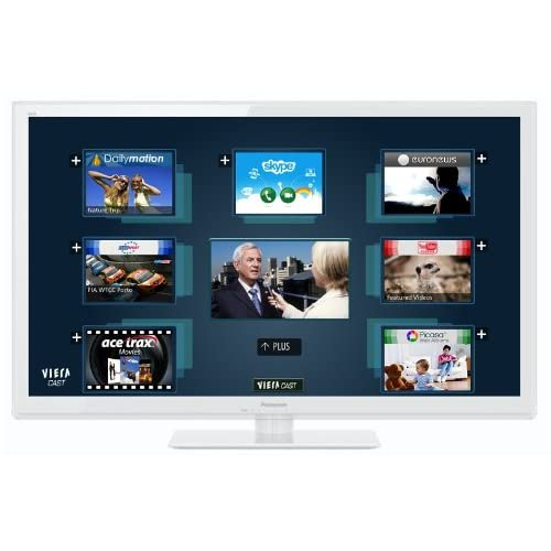 TV 3D 42 pouces PANASONICVIERATXL42ET5EBLANC42\