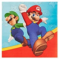Super Mario Party Lunch Napkins (20)