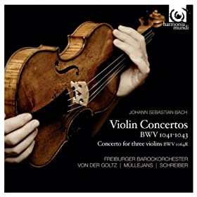 Concerto for three violins BWV 1064R in D Major: I.