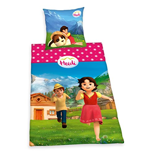 2-teiliges Baby Kinder Bettbezug 150 x 120 cm mit Kopfkissenbezug Muster 15