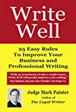 img - for Write Well book / textbook / text book