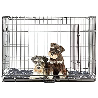 Andrew James Large 36 Inch Dog Puppy Anti Chew Cage with Bed
