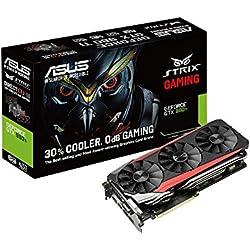 ASUS STRIX-GTX980TI-DC3-6GD5-GAMING NVIDIA GeForce GTX 980 Ti 6GB - Tarjeta gráfica (NVIDIA, GeForce GTX 980 Ti, 4096 x 2160 Pixeles, 6 GB, GDDR5-SDRAM, 384 Bit)