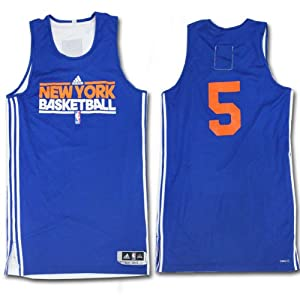 Bill Walker Jersey - NY Knicks 2011-2012 Season Game Worn #5 Blue and White... by Steiner+Sports