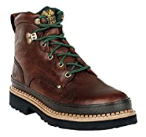 Hot Sale Georgia Boot Men's Georgia Giant G6374 Work Boot,Brown,9 M