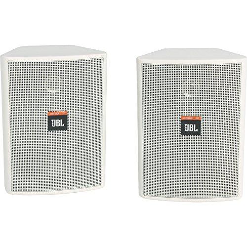 """Jbl Control 23T 2-Way 3-1/2"""" Indoor/Outdoor Speaker Pair White"""