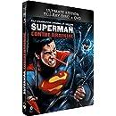 Superman contre Brainiac - Combo Blu-Ray + DVD - Steelbook format Blu-Ray - Collection DC COMICS [Blu-ray] [Combo Blu-ray + DVD - Édition boîtier SteelBook]