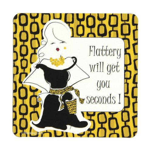 C.R. Gibson Working Girls Designs Magnet Flattery (Cpm-11088) front-934914