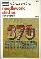 Spinnerin Needlework Stitches, 370 STITCHES;…