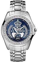 Marc Ecko Men's E95016G5 The Encore OZ Silver Stainless Steel Watch