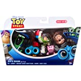 Disney Pixar Toy Story - Sid's Room - Gift Pack - RC, Lenny, Rocket Buzz Lightyear, Hamm and Babyface