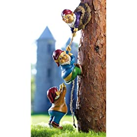 Climbing Gnomes Tree Decor by Collections Etc