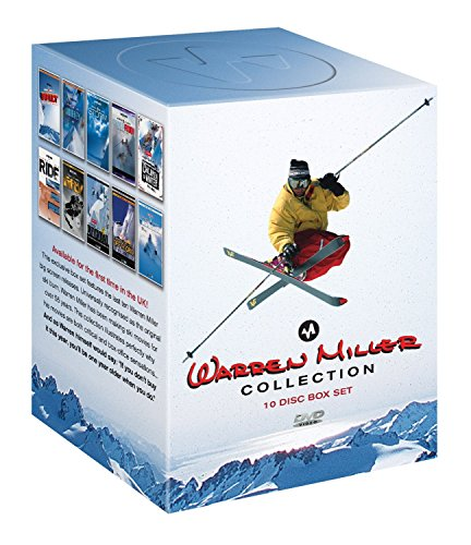 Warren Miller Collection: Impact, Journey, Storm, Cold Fusion, Ride, Fifty, Freeriders, Snowriders 2 [DVD]