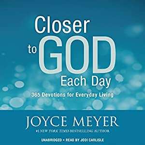 Closer to God Each Day Audiobook