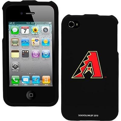 MLB Arizona Diamondbacks Hard iPhone 4 Snap Case - Black