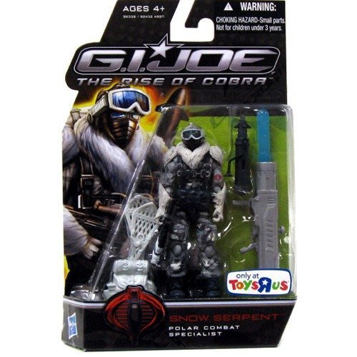 G.I. Joe The Rise of Cobra 3 3/4 Inch Action Figure Exclusive Snow Serpent by Hasbro (English Manual)