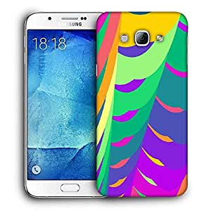Snoogg Fractal Printed Protective Phone Back Case Cover For Samsung Galaxy Note 5