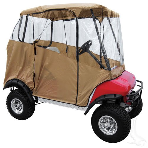 4-Sided Lightweight Drivable Nylon Golf Cart Cover