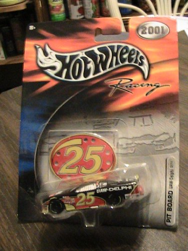 Hot Wheels 2001 Racing PIT BOARD #25 UAW-Delphi Collector Car - 1