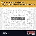 Das Kunstwerk im Zeitalter seiner technischen Reproduzierbarkeit Hörbuch von Walter Benjamin Gesprochen von: Ingo Fried