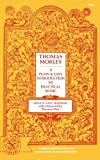 img - for A Plain and Easy Introduction to Practical Music (Norton Library) book / textbook / text book