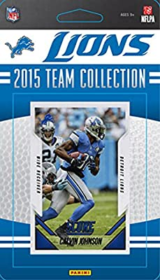 Detroit Lions 2015 Score Factory Sealed NFL Football Complete Mint 11 Card Team Set with Matthew Stafford Calvin Johnson Ameer Abdullah Rookie Plus