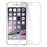 iPhone 6 / 6s Tempered Glass Screen Protector by G-Armor - 0.3mm Ultra Clear Scratch Resistant Protective Shield with Lifetime Warranty