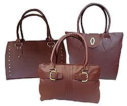 H&H Women's Combo Diva + Sporty+ Buckle Hand Bag (Maroon,Ahhbdm+Sm+Hbwbm)
