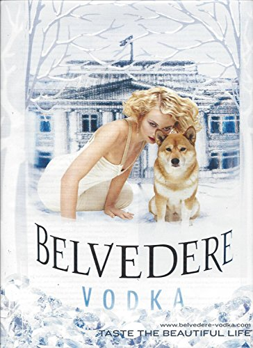 print-ad-for-2006-belvedere-vodka-winter-lady-dog-print-ad