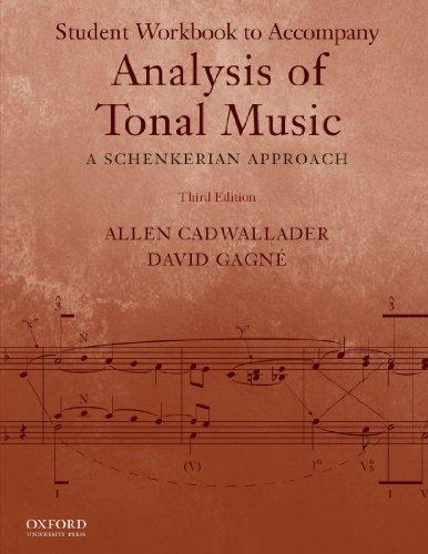 Analysis of Tonal Music: A Schenkerian Approach