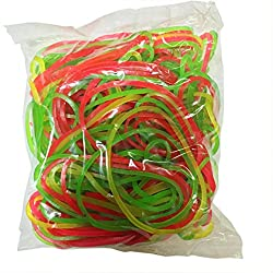 Flexi Rubber Bands - 3 inch Diameter - 100 pcs
