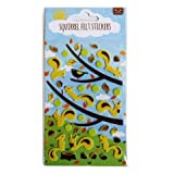 Squirrel Woodland Felt Stickers Create Your Own Scene Art Crafts Room Decoration