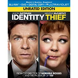 Identity Thief (Blu-ray + DVD + Digital Copy + UltraViolet)