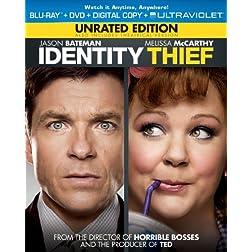 Identity Thief (Blu-ray + DVD + Digital Copy + UltraViolet)