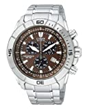 Citizen Mens AT0810-55X Eco-Drive Stainless Steel Sport Watch